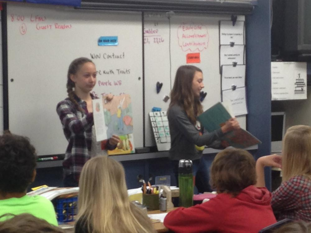 Young Authors Week 2014